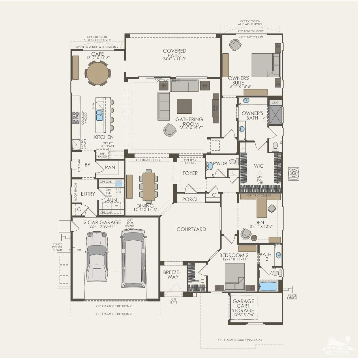 12 Port, Rancho Mirage, California 92270, 2 Bedrooms Bedrooms, ,3 BathroomsBathrooms,Residential,For Sale,12 Port,219011515