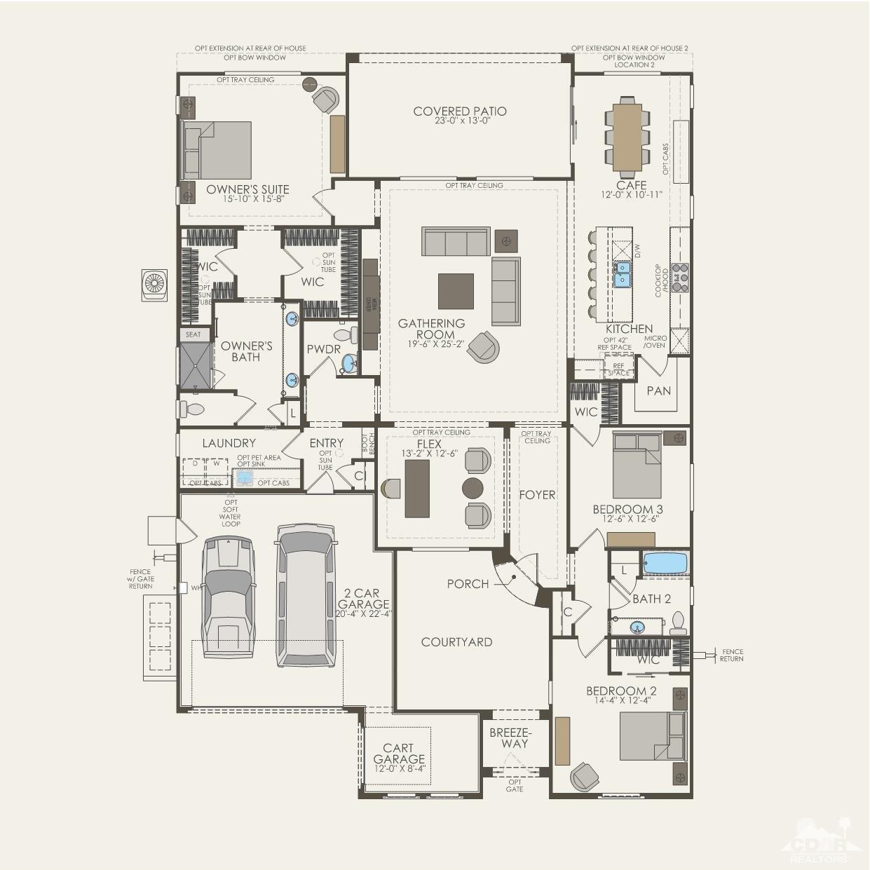 78 Bordeaux, Rancho Mirage, California 92270, 2 Bedrooms Bedrooms, ,3 BathroomsBathrooms,Residential,For Sale,78 Bordeaux,219022609
