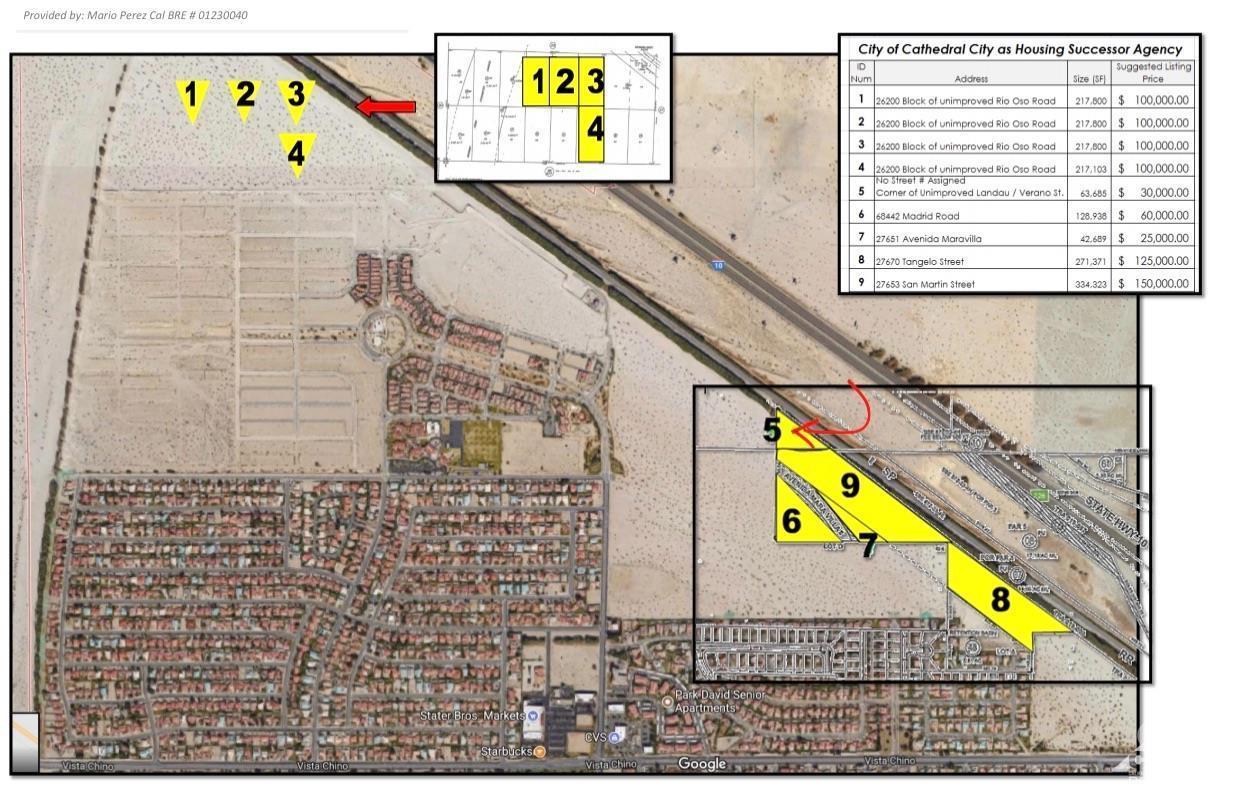 0 Verano, Cathedral City, California 92234, ,Land,For Sale,0 Verano,219030425