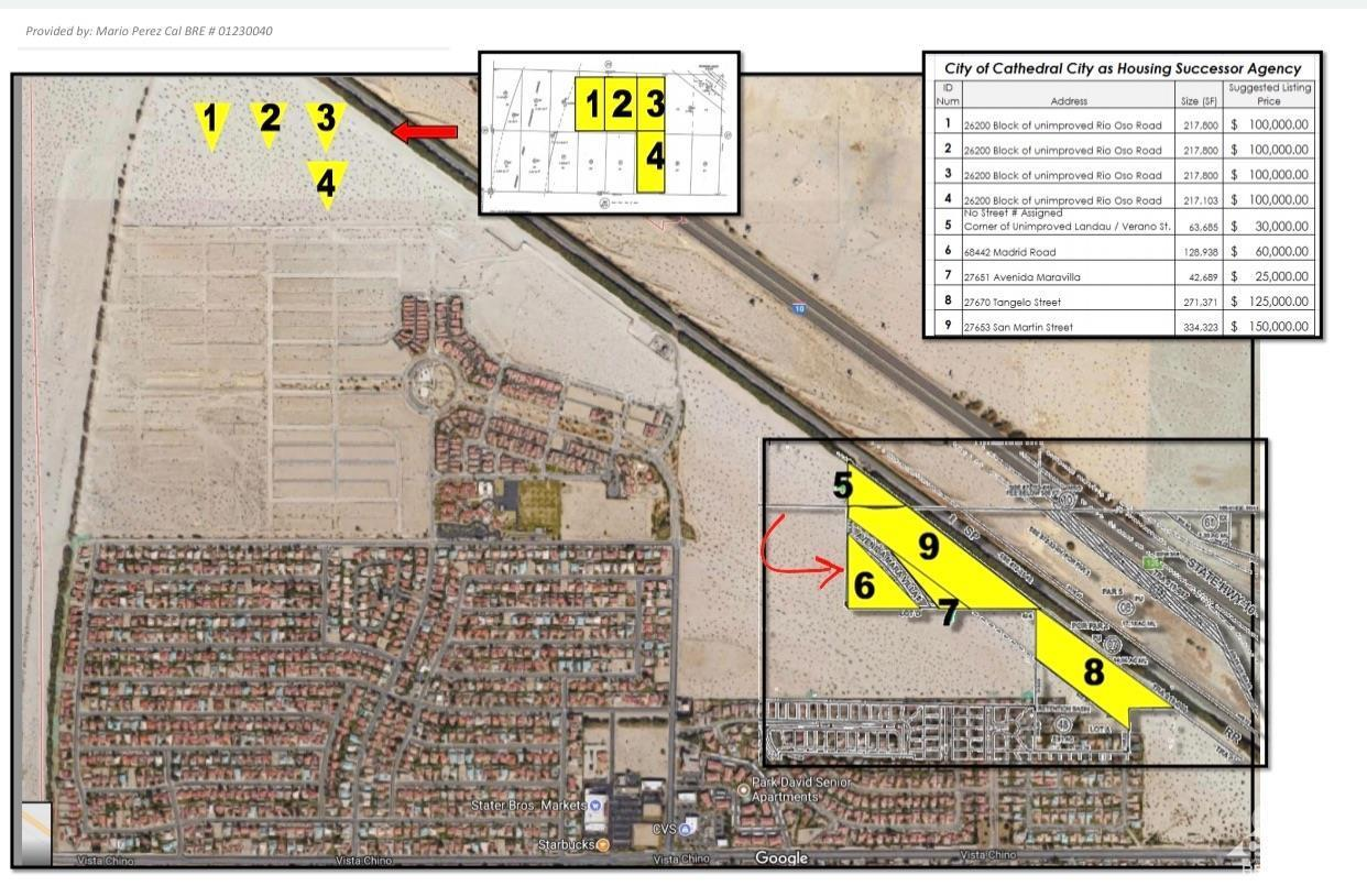 0 Madrid Road, Cathedral City, California 92234, ,Land,For Sale,0 Madrid Road,219030427