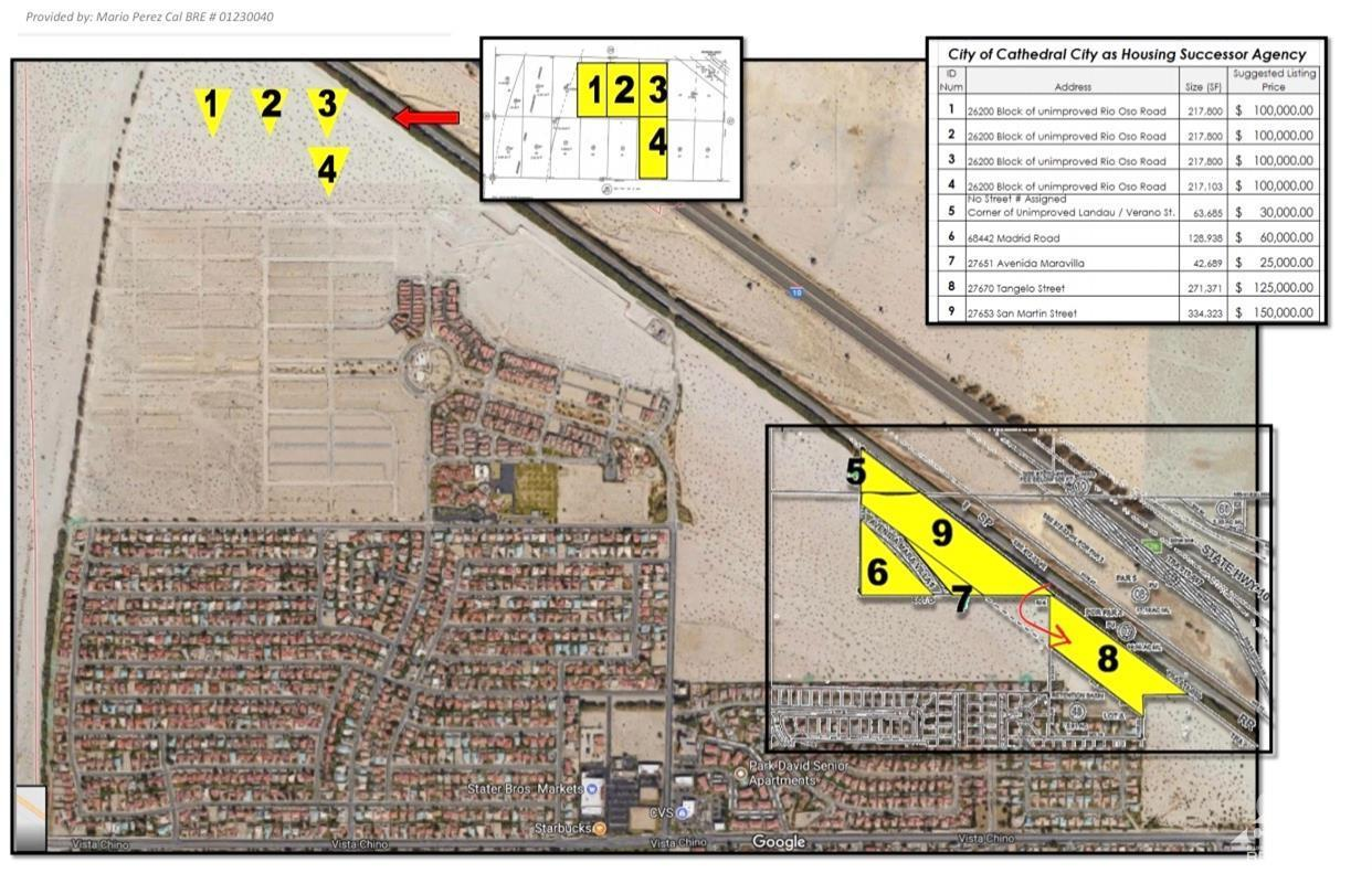 0 Tangelo Street, Cathedral City, California 92234, ,Land,For Sale,0 Tangelo Street,219030429