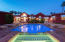 Glass Block Spa with Water Falls into Pool Plus 8 Water Features
