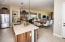 Open Concept Gourmet Kitchen Looking Towards Great Room