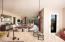Open Concept Living From Kitchen Through To Veranda