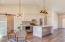 Dinning area / kitchen