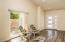 Living area / front door
