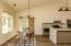 Dinning / kitchen / door to office (3rd bedroom)