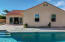 Pool & spa / large slider to living