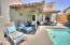 courtyard with saltwater pool