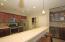 Spacious open kitchen.