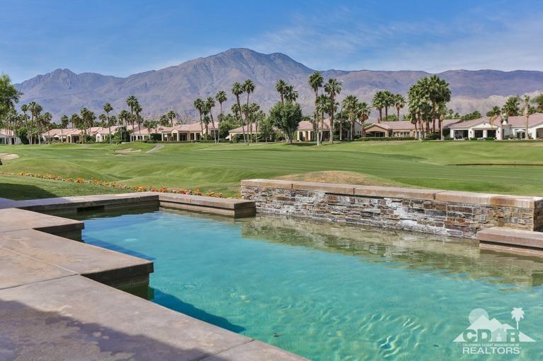 Mountains, mountains, and more mountain views! Perfect south and west large mountain and fairway views overlooking the Jack Nicklaus tournament course at beautiful PGA West. This five bedroom home is furnished with five King beds and an extra large detached two room casita Newly remodeled kitchen, Upgraded pool equipment, new commercial barbecue, new hot water tank, freshly painted interior and popular floor plan give this property a resort-like feel. Low HOA's, furnished per inventory. Call immediately for private showing!mountains and sunset views!Priced to sell. Seller motivated. Call now for private showing!