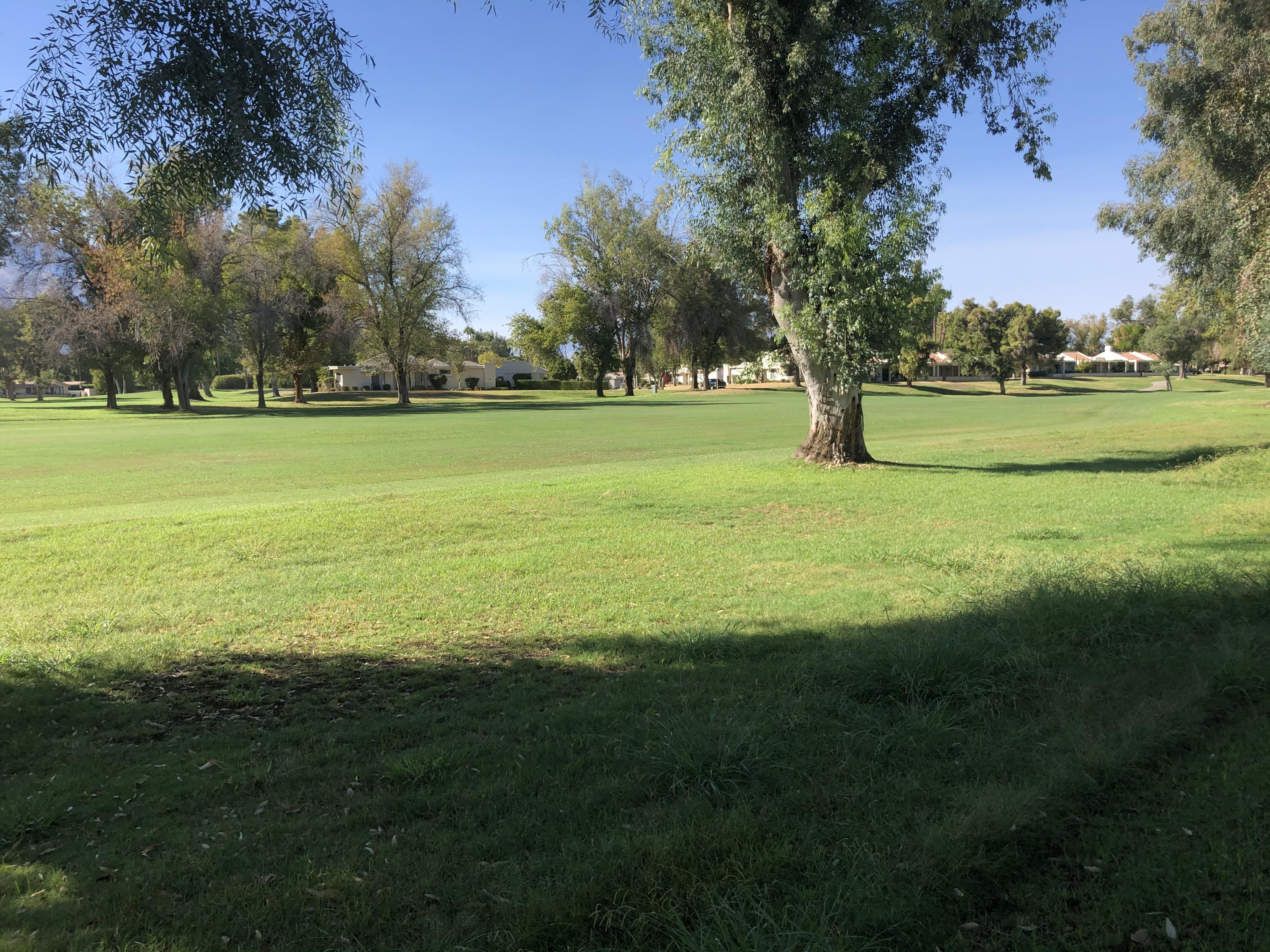 This is a picture Perfect Desert Getaway !,  Beautiful  golf course location  with patios to enjoy morning and afternoon sun Remodeled throughout  . Vaulted ceilings in living room and dining room ...cozy fireplace... well separated  bedrooms. Both baths have skylights.  Spacious eat in kitchen .. opens to barbecue patio.  Cathedral Canyon offers  challenging golf .. active tennis program .. new onsite restaurant '' Jax''   Great Price ! Great location!  Won't last