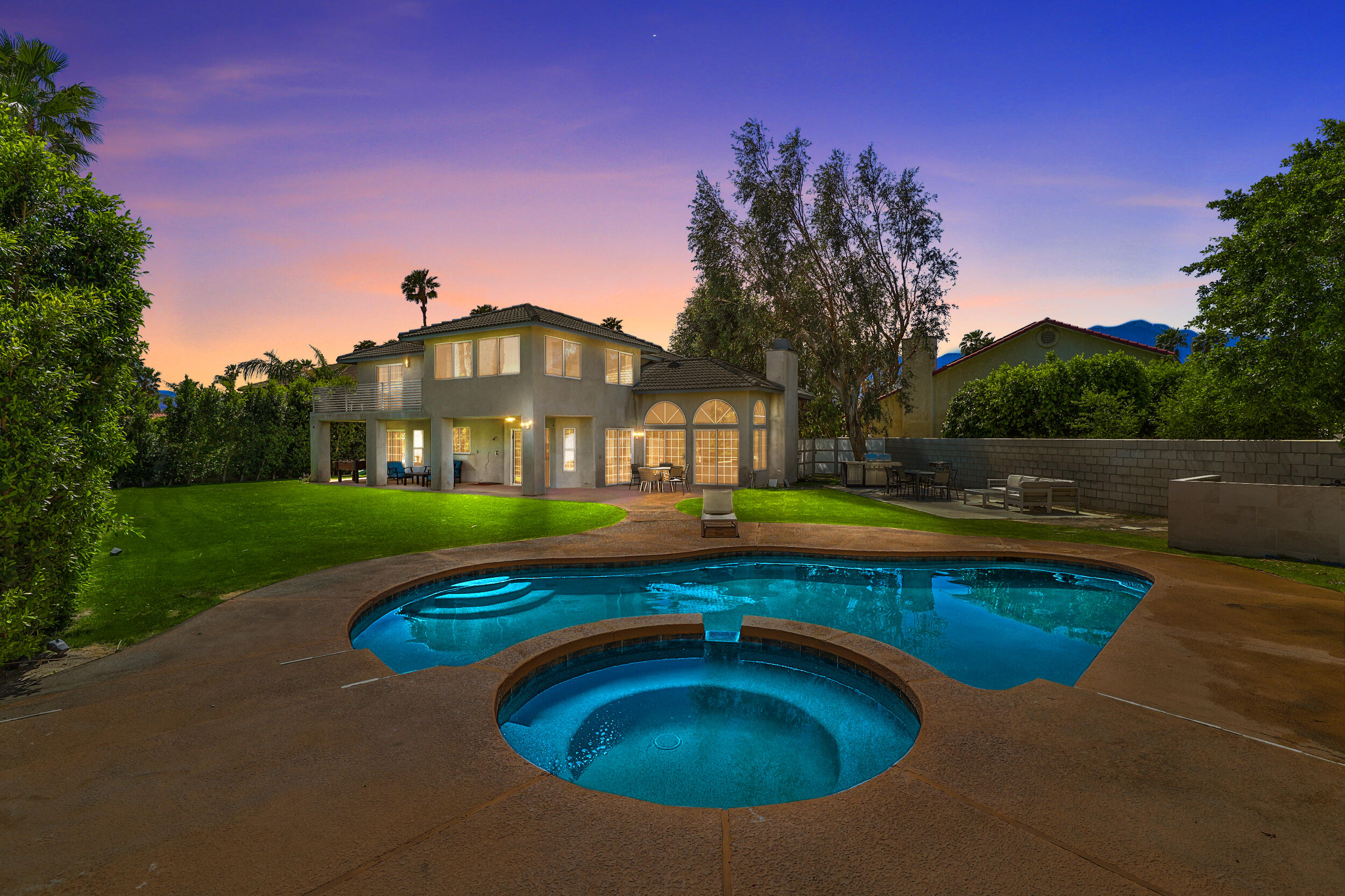 Welcome to one of the biggest homes in the Panorama area. This 5 bedroom, 4 bathroom, 2,868 sq. ft. home on a nearly 12,000 sq. ft. lot has all the room you'll ever need and was completely remodeled within the last 5 years. Including adding a bedroom and bathroom as well as a full kitchen update. Your new home is situated on an extremely quiet cul-de-sac with only three other homes. There's an extra-large 3 car garage with built-in cabinets. The drive-way can accommodate an RV or trailer and still have room for extra vehicles. Open floor plan with a fireplace and 14 ft. ceilings in the spacious living room. Entertaining flows easily through any of the five sliders that lead to the large backyard with beautiful pebble-tec, saltwater pool.