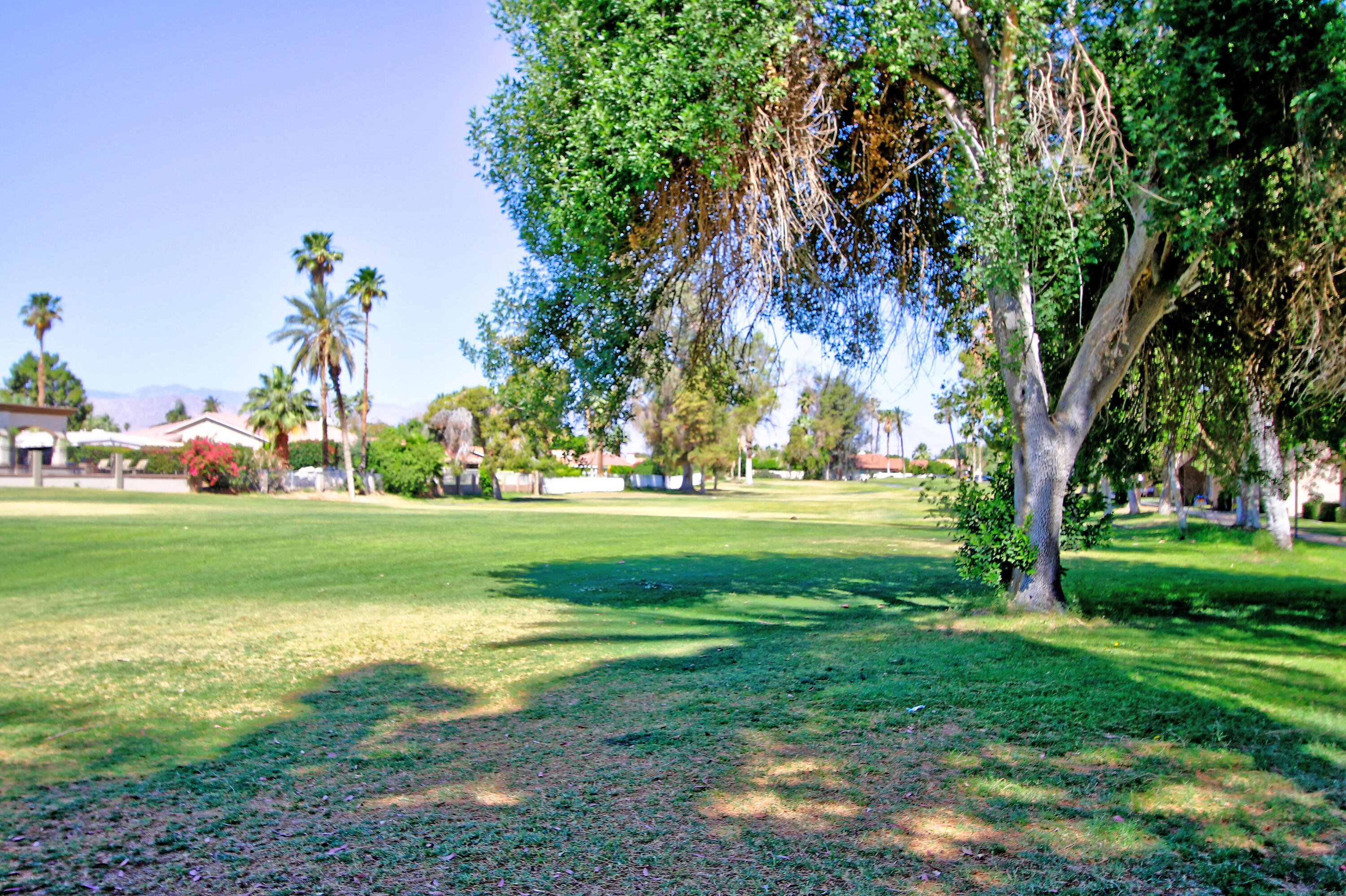 This beautiful, updated condo on the  golf course at Indian Palms Country Club, is the ideal ''Zen'' retreat in the desert.  Suitable for full-time all-season living, the property may also be rented on a short-term basis, to help you take advantage of potential earnings during festival season!  Boasting tile floors on the main level, with carpeted stairs and bedrooms, the unit has a gourmet kitchen, with granite tile, updated appliances, and an open dine-in Kitchen; main floor laundry; separate formal living room; an office alcove; Bright, open patio at rear, and gorgeous golf course and mountain views in the front.  Upstairs, you will find 2 ample bedrooms, and a full, tastefully appointed bath.  This peaceful home has been stylishly remodeled, and won't last long at this price, so please make an appointment to see it today!