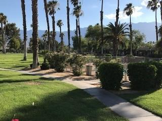 LOCATION, LOCATION, LOCATION on this 2 bedroom toltec model.  Being completely remodeled as we speak.  Buyer gets to pick some finishes.  Steps to pool and west facing views to mountains and golf course!  Lease extended to 2069 - monthly ground rent $182.00.