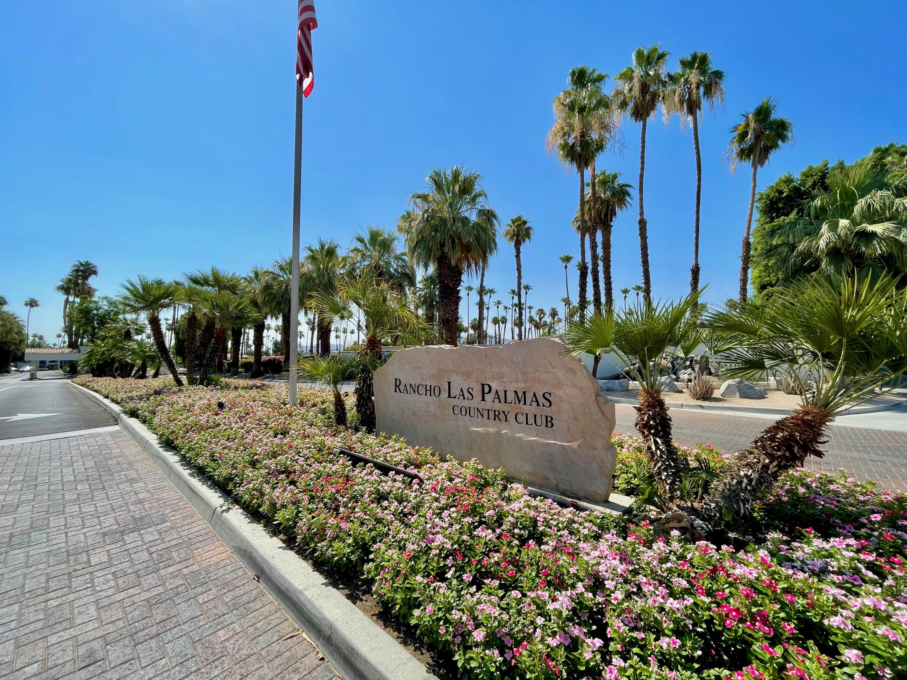Great opportunity to own in desirable Rancho Las Palmas! This condo is in a great location with large patio facing east on a double fairway with lots of sunshine perfect in the winter for those morning cups of coffee. Condo is offered furnished and features 3 Bed and 2 Baths with the 3rd bedroom currently used as an office. This condo is light and bright featuring tile and carpet flooring, views from the living room and an attached garage. Rancho Las Palmas features many amenities with several pools/spas, fitness center, 27 hole golf course and tennis courts. Located across the street from ''The River'' offering shopping, restaurants, and much more! You don't want to miss this one.