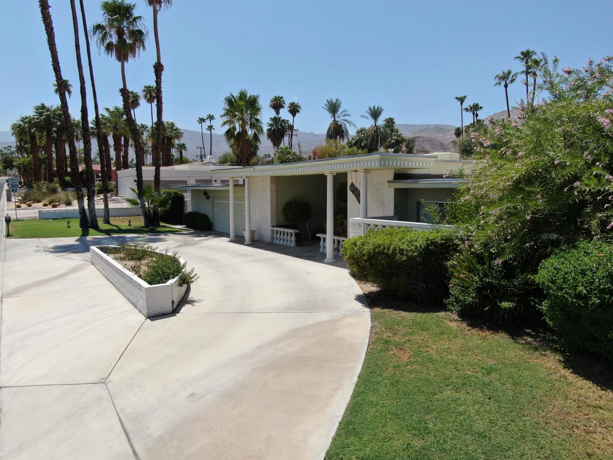 Here's a rare opportunity in one of South Palm Desert's best areas ready for a modern-day remodel! A later Mid-Century home designed by Charles Dubois, verified by Palm Desert Historical Society. This rare opportunity has unlimited potential, a great home, vacation home, and within walking distance to El Paseo. A truly unique architectural home in South Palm Desert a Must see!