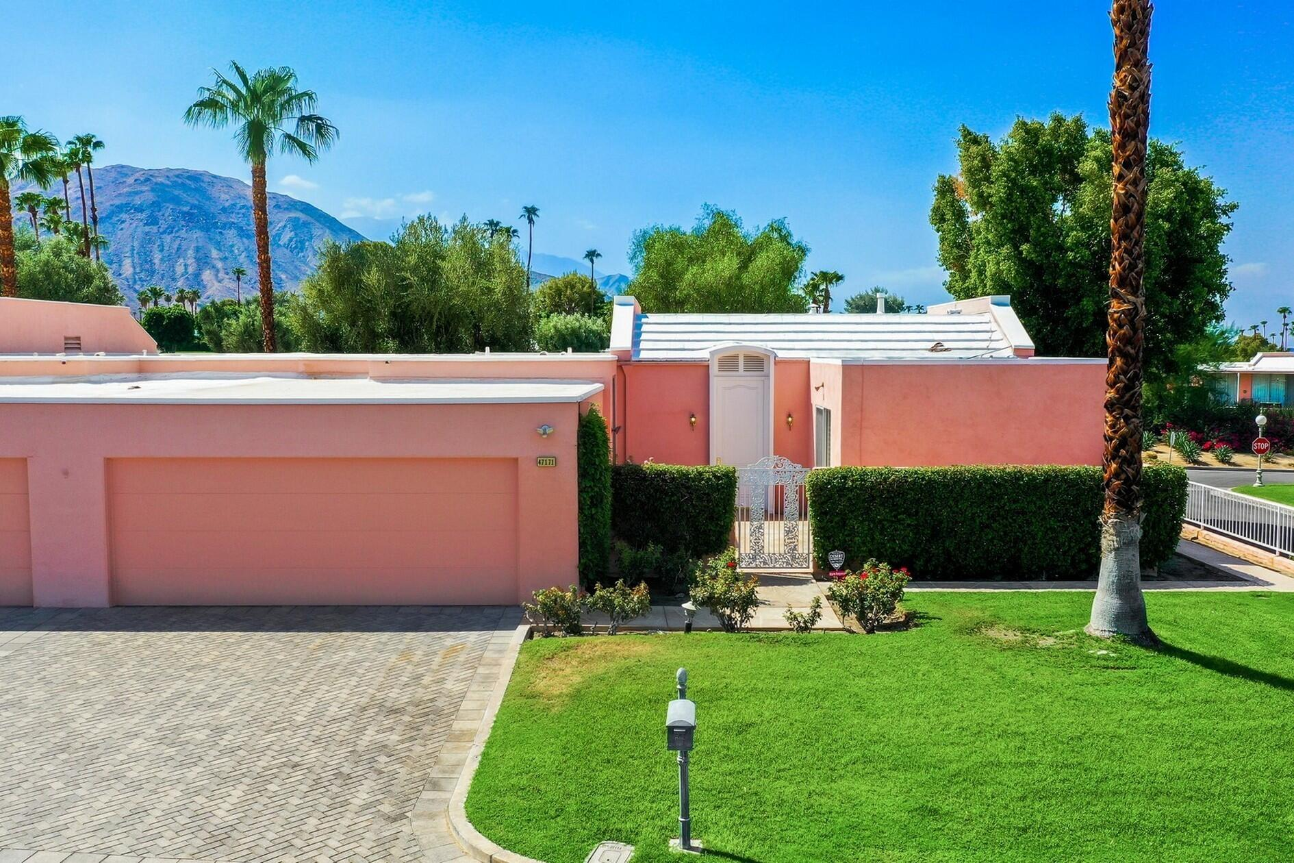 Marrakesh! Well priced- modified C Plan expanded to include a 3rd bedroom and 3/4 bath. This West facing residence is a neutral palette ready for your clients to update and create their very own interior.  Property is situated on a S/W corner allowing for much light & wonderful sunsets.   Please note home corners Marrakesh Drive and El Agadir Circle. Pedestrian, Golf and some car Traffic is apparent- however one could overlook with the westerly mountains in the background!  Great location for people that like to be interactive with street scene, golf course activity and with all that goes on at Marrakesh CC.