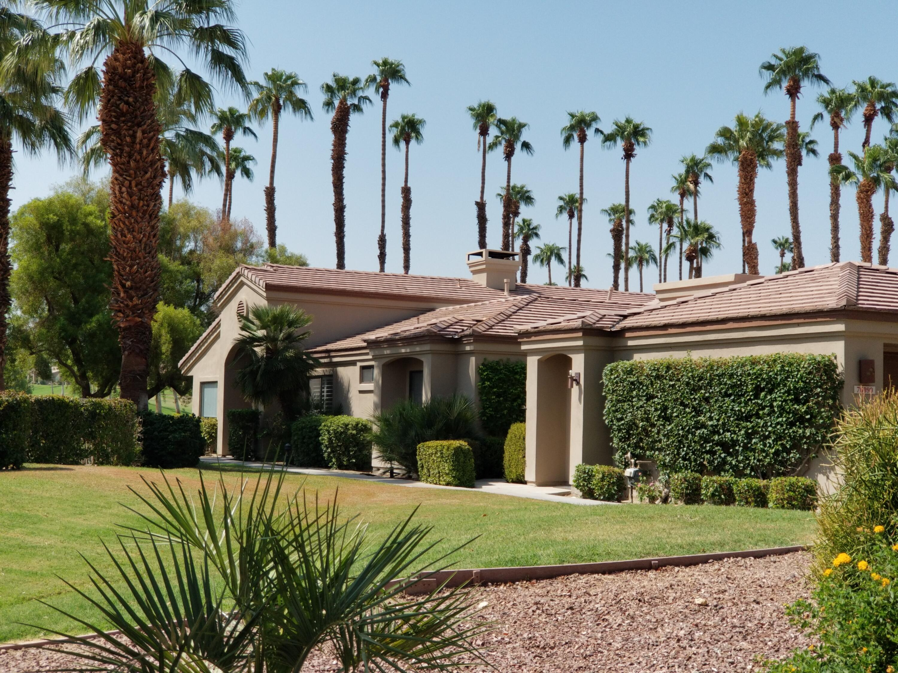 Welcome to Palm Valley Country Club ''THE FUN CLUB''.  This fully remodeled Cottonwood Plan is located in a rare parklike setting, surrounded by lush green common area landscaping.  Your front entry opens up to the community glistening pool and spa.  Gorgeous fairway views from the large glass patio doors, that seem to go on forever.  Imagine enjoying a BBQ on your patio and then relaxing in the bubbly in ground spa, just a few steps away.  One of the most beautifully designed and decorated homes in the club.  Orange County designer carefully selected coordinating tiles, stone and gorgeous cabinetry, along with complementing home furnishings and accessories.  Attention to every detail makes this a WOW!!  Location is a ''10''!!  3 bedroom and 2 baths..  Opened up flowing floorplan.  Palm Valley offers 2 18-hole golf courses, numerous tennis and pickleball courts, 2 restaurants with large lounge for meeting new friends, enjoying ''Small Plates'' or Pasta nights, in season live music (may depend on COVID restrictions). 100,000 sq ft clubhouse includes well equipped fitness center, spa services and hair/nail salon. Golf, tennis/pickleball/fitness all require additional membership fees.  Once you get here, you will never want to leave!!