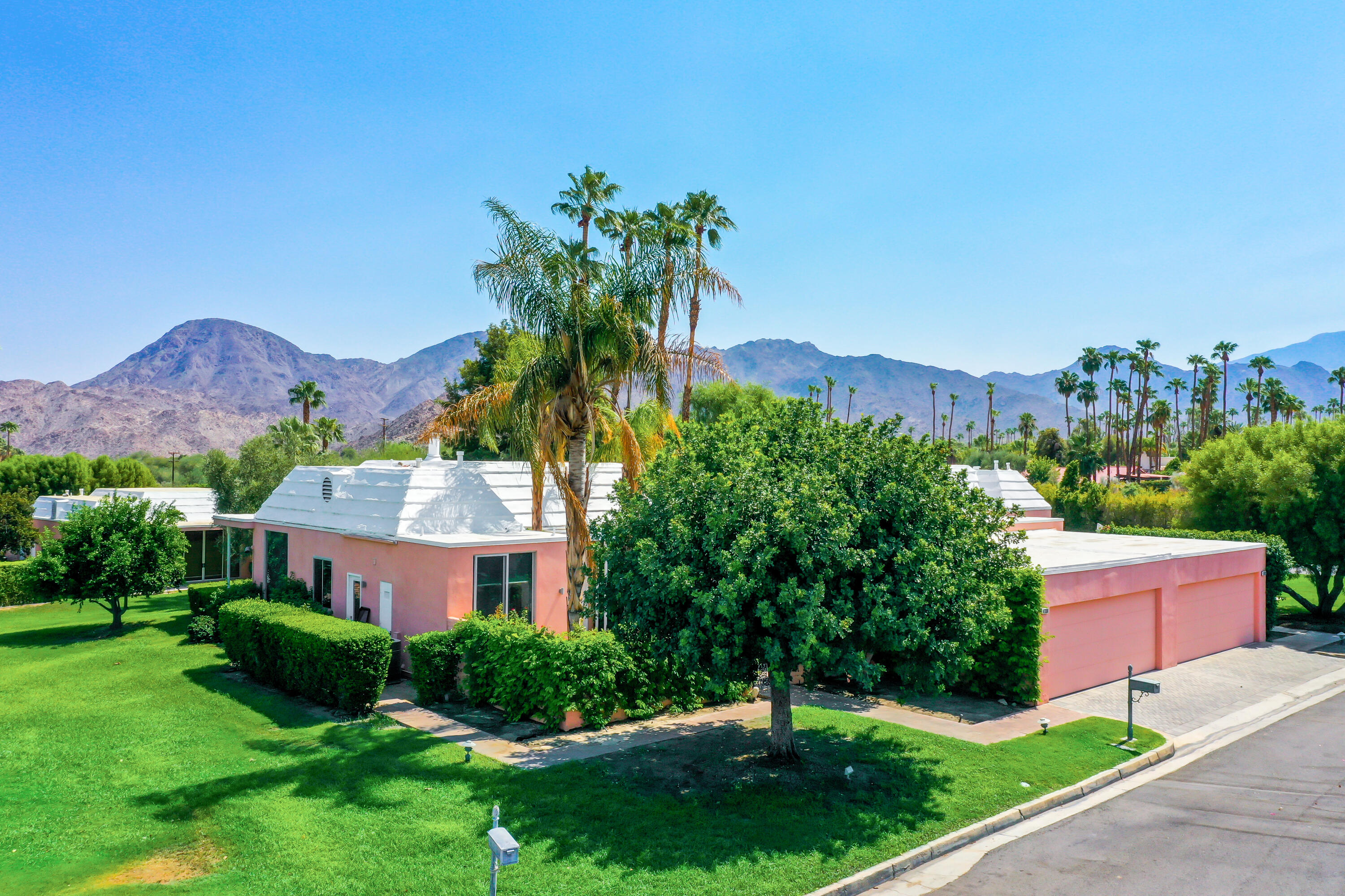 Welcome to the prestigious Marrakesh Country Club in the heart of Palm Desert. Upon entering this community you will be welcomed by the beautiful modern architecture that is well known in the desert. This condo has been upgraded and is nothing short of stunning, with modern finishes throughout. This one wont last long!