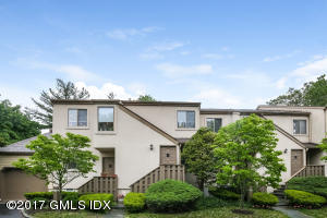 Quiet condo community at the end of a cul de sac features 1,672 sq. ft., balcony, laundry in unit, and detached garage. One-floor living on upper floor - no one above you!