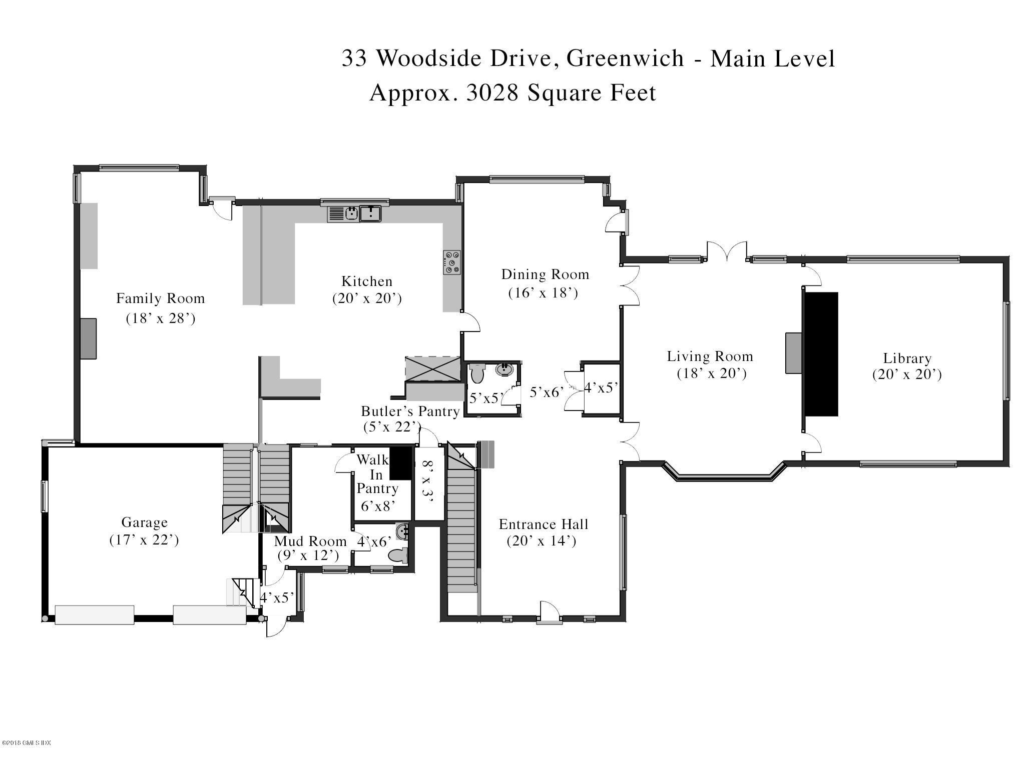 33 Woodside Drive, Greenwich, CT 06830