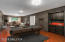 Lower level with virtual staging