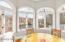 Breakfast Room with panoramic lake views