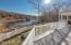 Expansive Deck with Lake Views