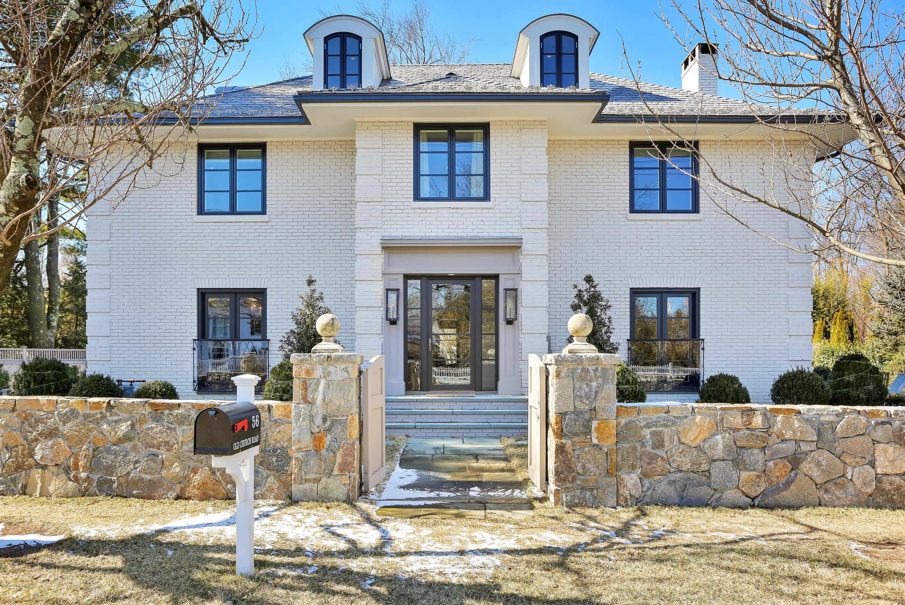 56 Old Church Road,Greenwich,Connecticut 06830,5 Bedrooms Bedrooms,5 BathroomsBathrooms,Single family,Old Church,105851