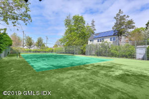 .28 acre lot - presently a tennis court