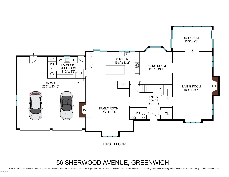 56 Sherwood Avenue, Greenwich, CT 06831