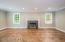 Beautiful Living Room W/Fireplace