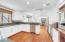 Kitchen virtually painted white