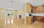 Huge combo kitchen/living space