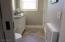 Custom, expanded Hall Bath