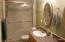 New walk in shower and comfort height toilet