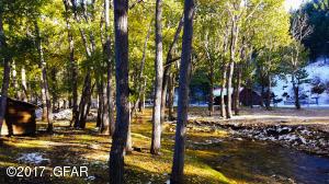 26 Creekside Cabin from Footbridge