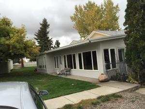 Patio to Modular Home