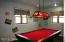 Custom pool table light does not convey