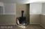 Downstairs Livingroom w/pellet stove.