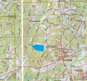 1671 Leake location