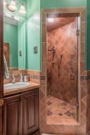 54 guest tiled bath