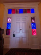 Beautiful stained glass front door