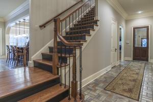 Rear staircase