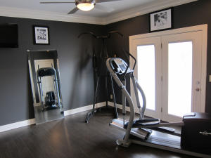 Gym off Master Bath