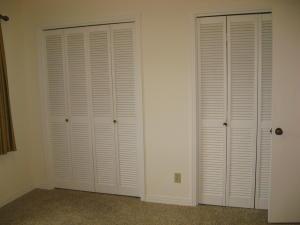 Closets in bedroom 2
