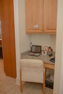 Desk Nook off Kitchen