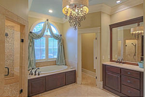 MASTER BATH AND HIS VANITY