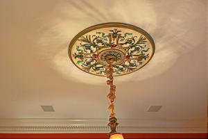 DINING ROOM MEDALLION